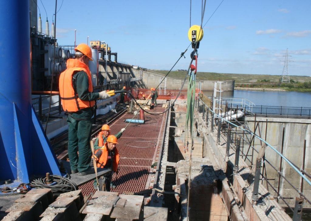 Началась реконструкция моста нижнего бьефа на Нижегородской ГЭС