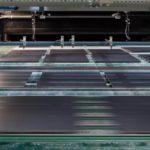Технологическая схема стендового формования панелей