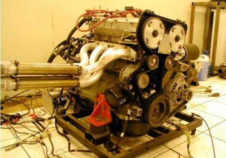 Пример форсированного двигателя