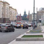 Реконструкция площади Тверской заставы на скорости движения транспорта не сказалась